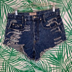 Guess vintage distressed shorts sz 30